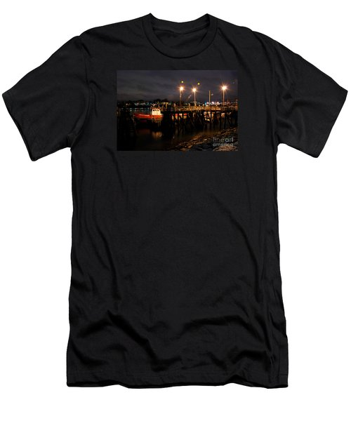 Night Pier Men's T-Shirt (Athletic Fit)
