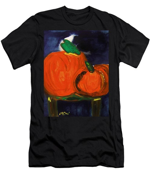 Night Pumpkins Men's T-Shirt (Athletic Fit)