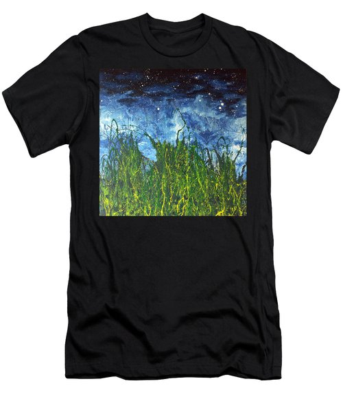Night Sky 2007 Men's T-Shirt (Athletic Fit)
