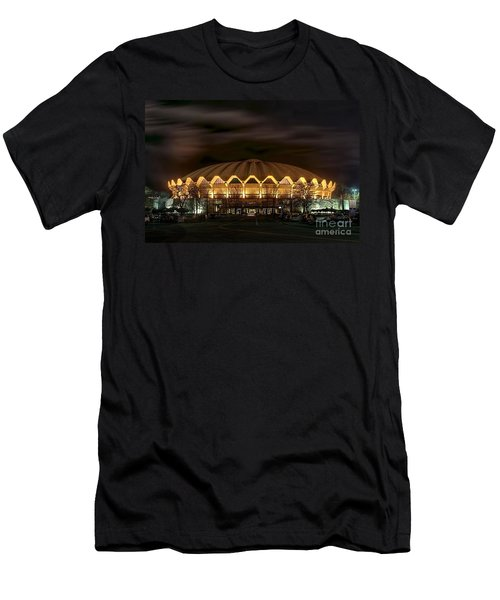 night WVU basketball Coliseum arena in Men's T-Shirt (Athletic Fit)