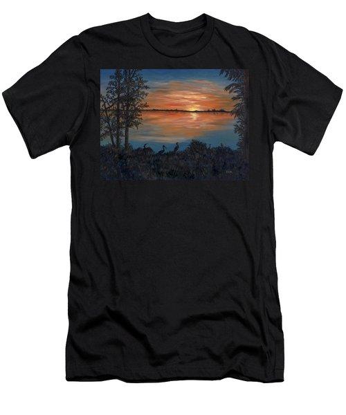 Nightfall At Loxahatchee Men's T-Shirt (Athletic Fit)