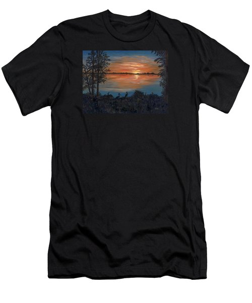 Nightfall At Loxahatchee Men's T-Shirt (Athletic Fit)