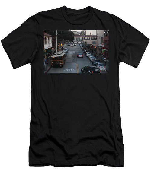 Nightfall Over Monterey Cannery Row California 5d25143 Men's T-Shirt (Athletic Fit)