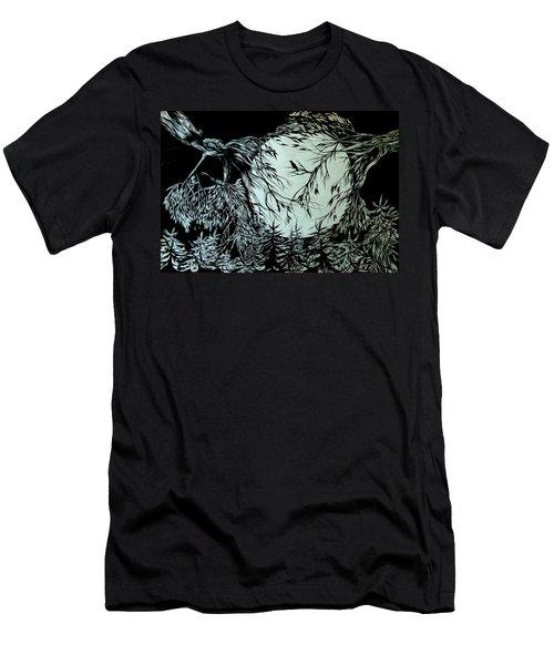Nightingale Song. Part Three Men's T-Shirt (Slim Fit) by Anna  Duyunova