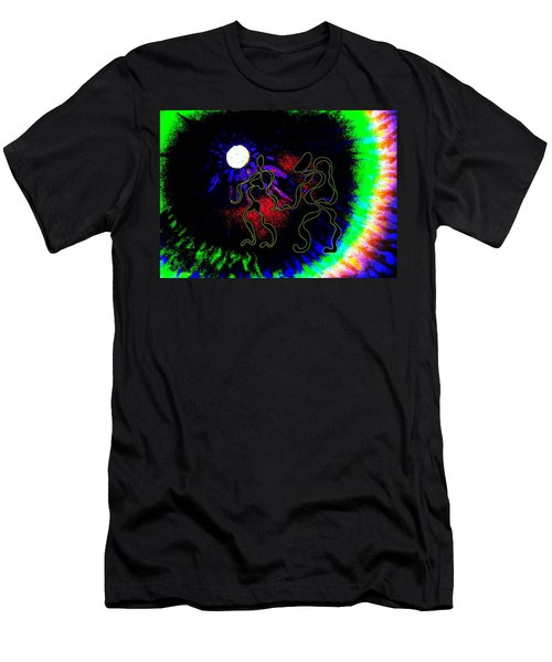 Nightly Rhythms Of Desire Men's T-Shirt (Athletic Fit)