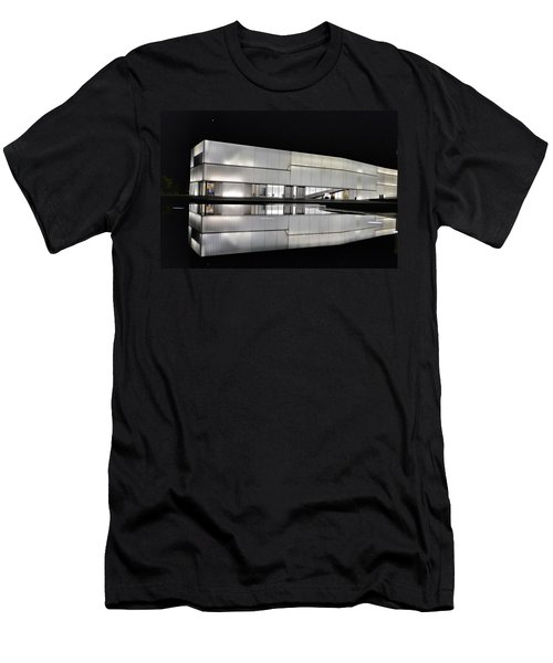 Nighttime Reflections Men's T-Shirt (Athletic Fit)