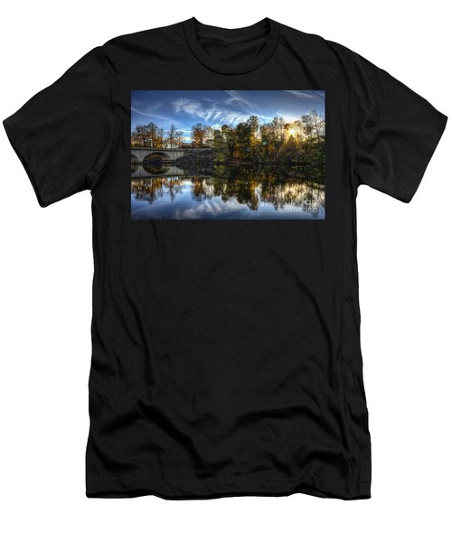 Niles Reflections Men's T-Shirt (Athletic Fit)