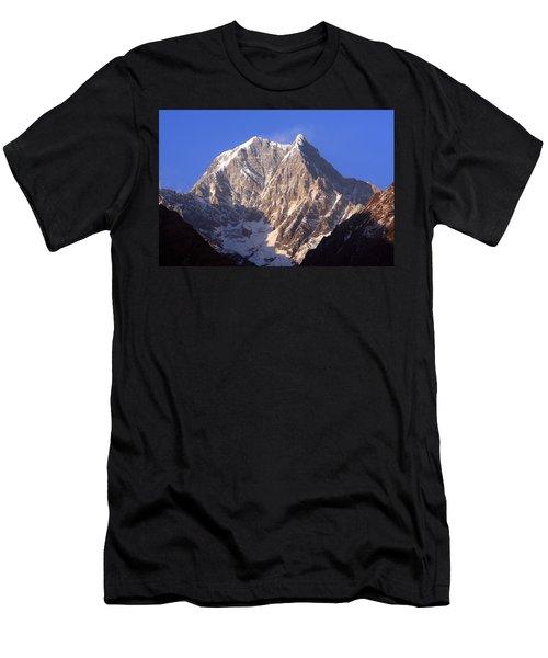 Men's T-Shirt (Athletic Fit) featuring the photograph Nilgiri South 6839m by Aidan Moran