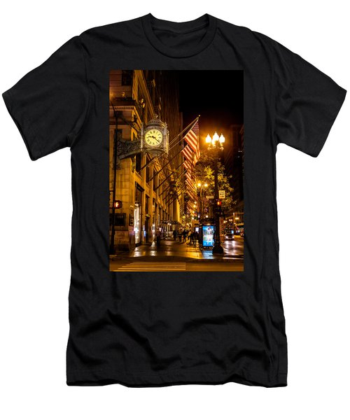 Nine Twenty Two In Chicago And All Is Well Men's T-Shirt (Athletic Fit)