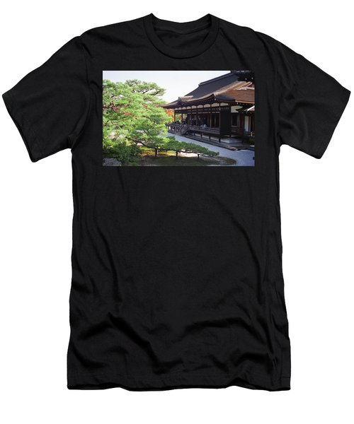 Ninna-ji Temple Garden - Kyoto Japan Men's T-Shirt (Athletic Fit)