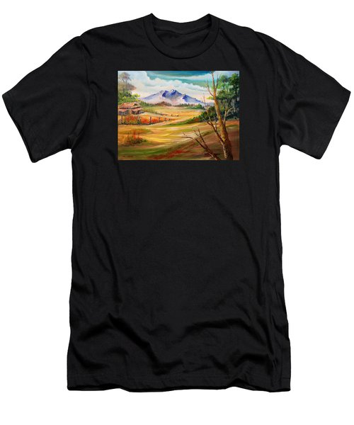 Nipa Hut 2  Men's T-Shirt (Athletic Fit)