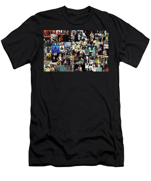Nirvana Collage Men's T-Shirt (Athletic Fit)