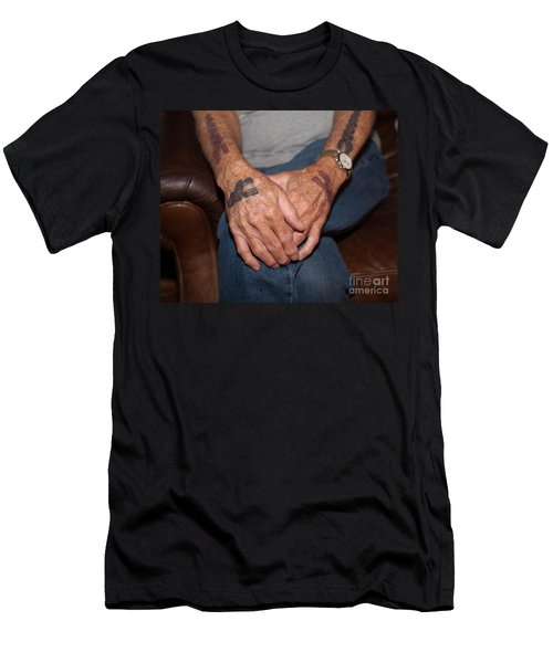 Men's T-Shirt (Slim Fit) featuring the photograph No Age Limit by Roselynne Broussard