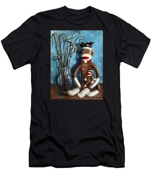 No Monkey Business Here 1 Men's T-Shirt (Athletic Fit)