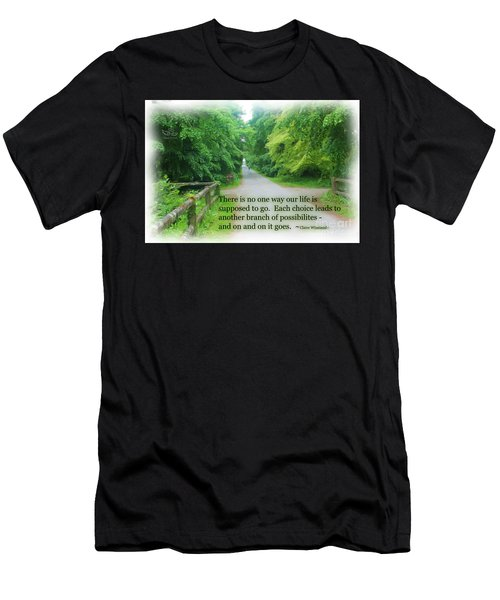 No One Way Men's T-Shirt (Athletic Fit)