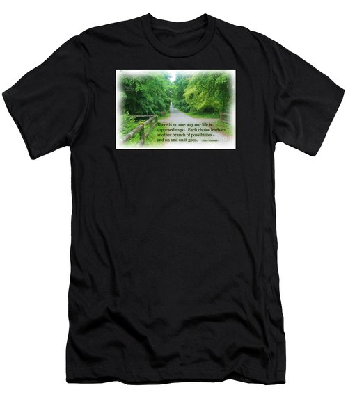 Men's T-Shirt (Athletic Fit) featuring the photograph No One Way by Beauty For God