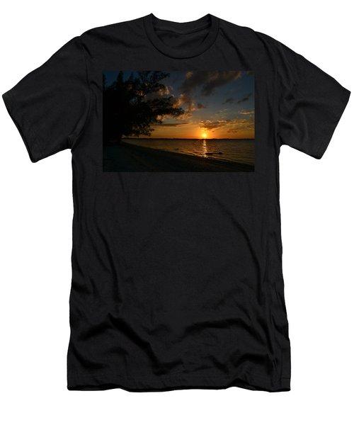 No Words Men's T-Shirt (Athletic Fit)