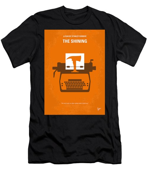 No094 My The Shining Minimal Movie Poster Men's T-Shirt (Athletic Fit)
