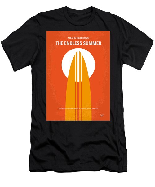 No274 My The Endless Summer Minimal Movie Poster Men's T-Shirt (Athletic Fit)