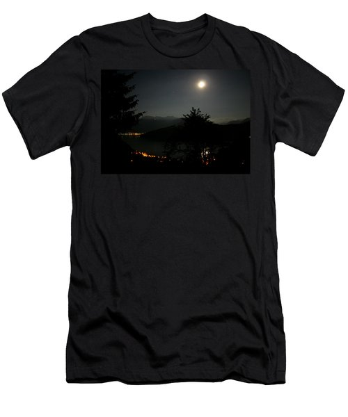Nocturne In Switzerland Men's T-Shirt (Athletic Fit)