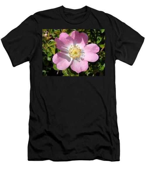 Nootka Rose Men's T-Shirt (Athletic Fit)