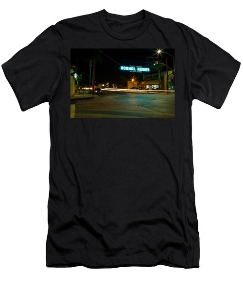 Normal Heights Neon Men's T-Shirt (Athletic Fit)