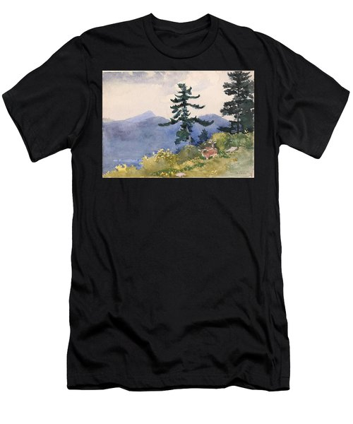 North Woods Club Men's T-Shirt (Athletic Fit)