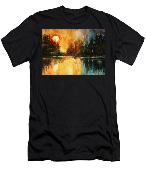 Northern Sunset Men's T-Shirt (Athletic Fit)