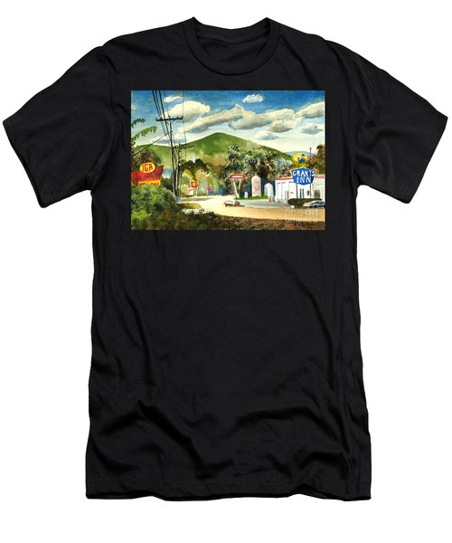 Nostalgia Arcadia Valley 1985  Men's T-Shirt (Athletic Fit)