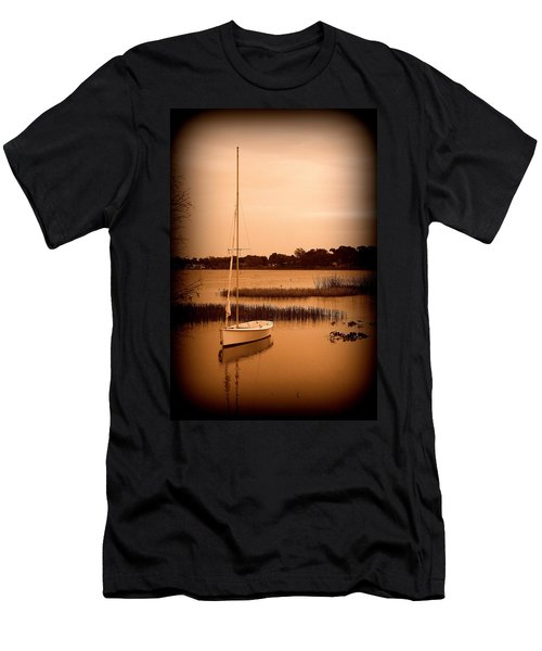 Men's T-Shirt (Slim Fit) featuring the photograph Nostalgic Summer by Laurie Perry