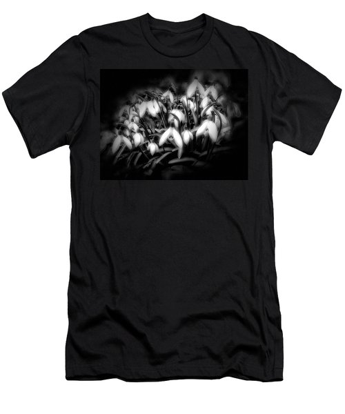Men's T-Shirt (Slim Fit) featuring the photograph Not Everything Needs Color by Gabriella Weninger - David