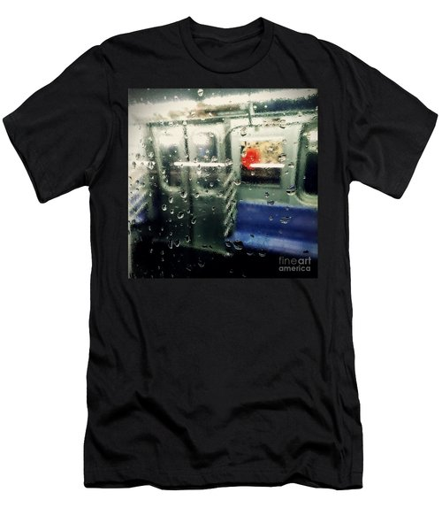 Men's T-Shirt (Slim Fit) featuring the photograph Not In Service by James Aiken