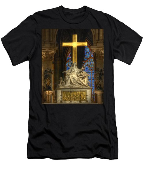 Notre Dame Pieta Men's T-Shirt (Athletic Fit)