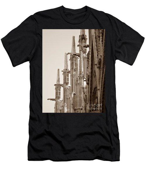 Notre Dame Sentries Sepia Men's T-Shirt (Athletic Fit)