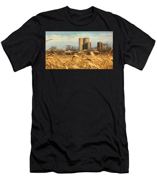 November Winds Men's T-Shirt (Athletic Fit)