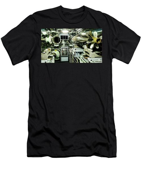 Nuclear Submarine Torpedo Room Men's T-Shirt (Athletic Fit)