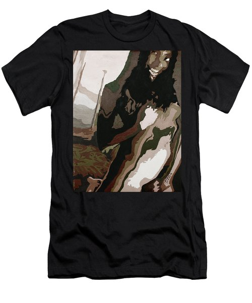 Nude4 Men's T-Shirt (Athletic Fit)