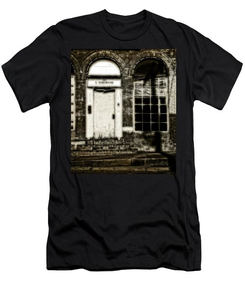Number 104 Men's T-Shirt (Slim Fit) by Mark Alder
