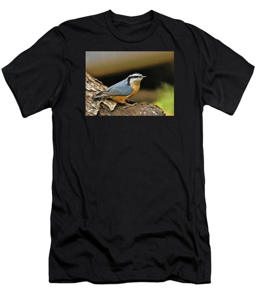 Nuthatch Pose Men's T-Shirt (Athletic Fit)