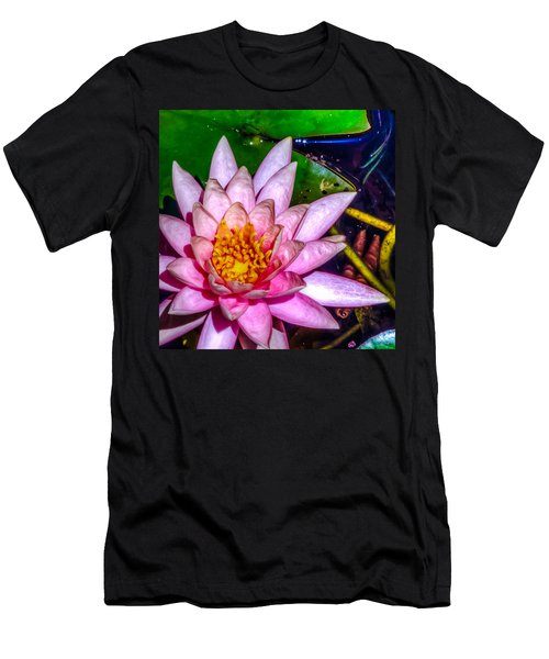 Men's T-Shirt (Slim Fit) featuring the photograph Nymphaeaceae by Rob Sellers