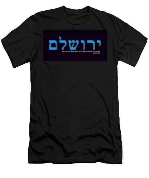 O Jerusalem Men's T-Shirt (Athletic Fit)