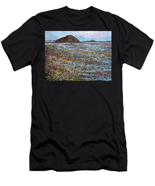 Oak Bay - Low Tide Men's T-Shirt (Athletic Fit)