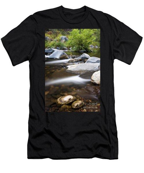 Oak Creek Flowing Men's T-Shirt (Athletic Fit)