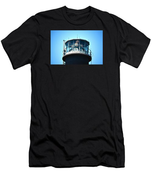 Oak Island Lighthouse Beacon Lights Men's T-Shirt (Athletic Fit)