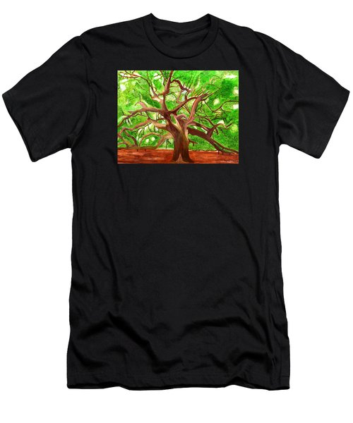 Oak Tree Men's T-Shirt (Athletic Fit)