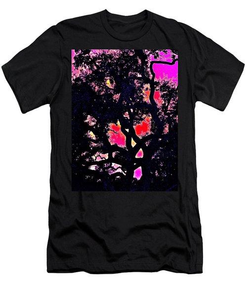 Men's T-Shirt (Slim Fit) featuring the photograph Oaks 10 by Pamela Cooper