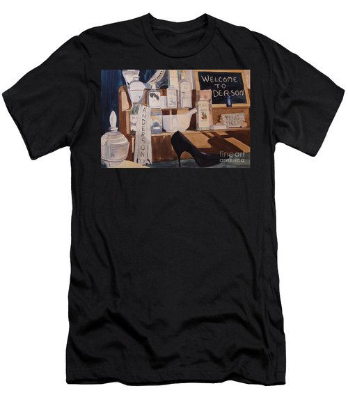 Oberkamp Drugstore Window Men's T-Shirt (Athletic Fit)