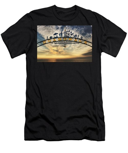 Ocean City Boardwalk Men's T-Shirt (Athletic Fit)