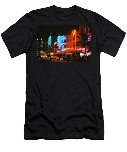 Ocean Drive Film Image Men's T-Shirt (Athletic Fit)