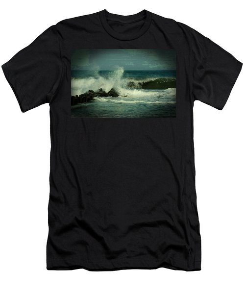 Ocean Impact - Jersey Shore Men's T-Shirt (Athletic Fit)